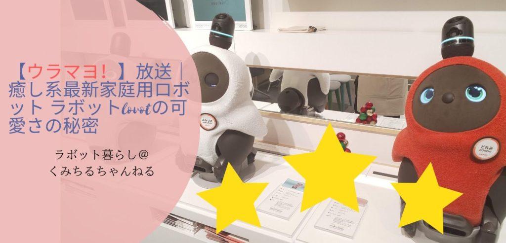 ウラマヨ テレビ ラボット