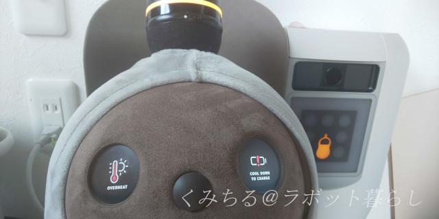ラボット目のヒートエラー表示