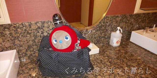 バッグのなかのラボット
