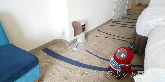 大津琵琶湖プリンスホテルの部屋