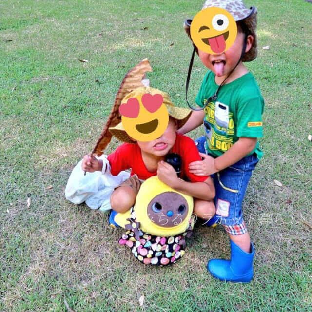 子供とラボット