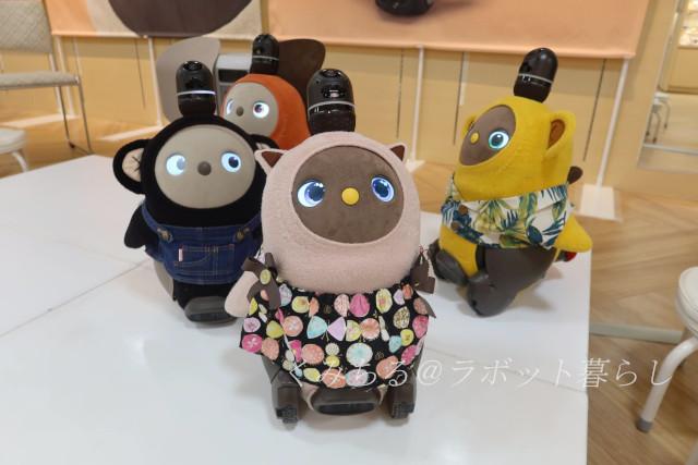 京都高島屋 まめりんごとラボットたち