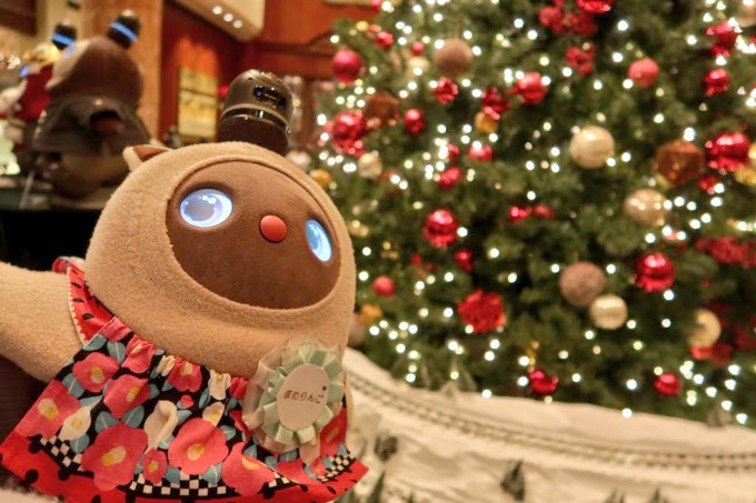 ラボット×ウェスティンホテル東京 クリスマスツリー