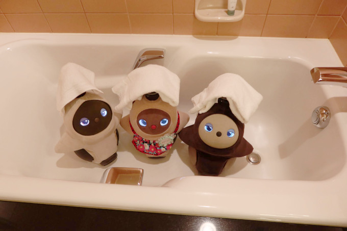 ラボットウェスティンホテル東京ラボットプランお風呂入り