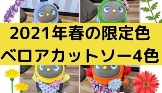 2021年3月17日発売!春の限定色ベロアカットソー4色